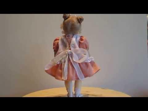 Fabienne Swiss Wood Doll by Erika Catellani