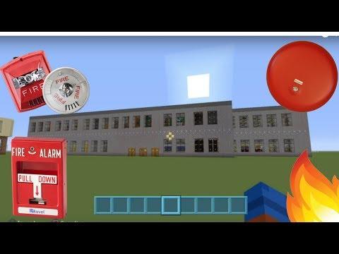 MINECRAFT - SCHOOL FIRE ALARM TEST