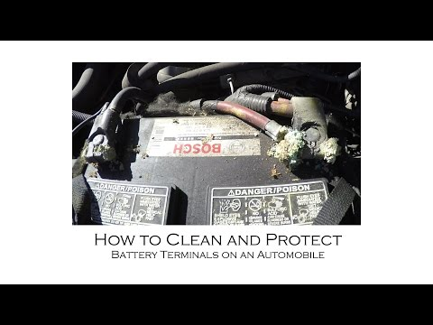 How to Clean and Protect Battery Terminals with Baking Soda and How to Remove Stuck Terminal Bolts