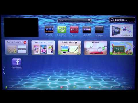 How to Rearrange Apps on Samsung SmartTV