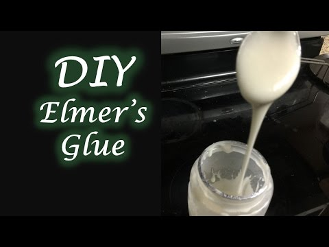 Homemade Elmer's Glue for Slime - Non toxic & Eco Friendly