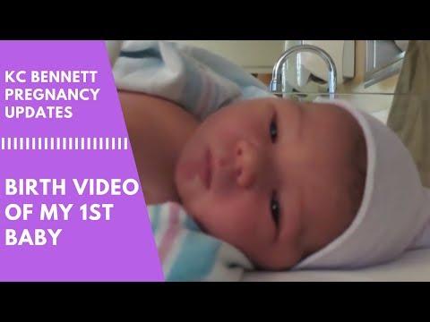 BIRTH VIDEO OF MY 1ST BABY | KC Bennett