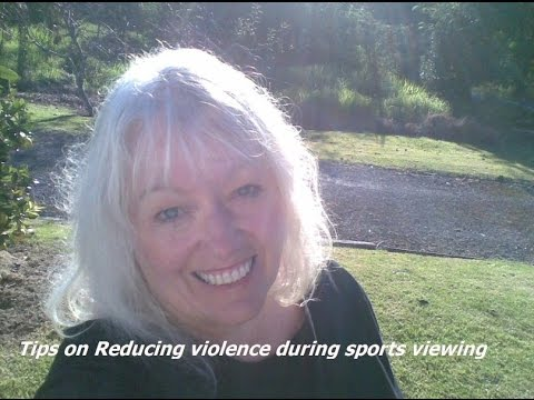 Reducing violence during sports game viewing