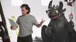 """How to Train Your Dragon - Kit Harington """"Lost"""" Toothless Audition Tape"""