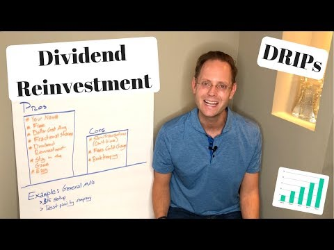 How To Invest In Dividend Stocks With DRIPs and DSPs (Dividend Reinvestment Plans)