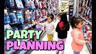 PARTY PLANNING WITH JMK! -  ItsJudysLife Vlogs