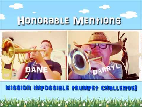 HONORABLE MENTIONS DANE AND DARRYL from mission impossible trumpet challenge 2018