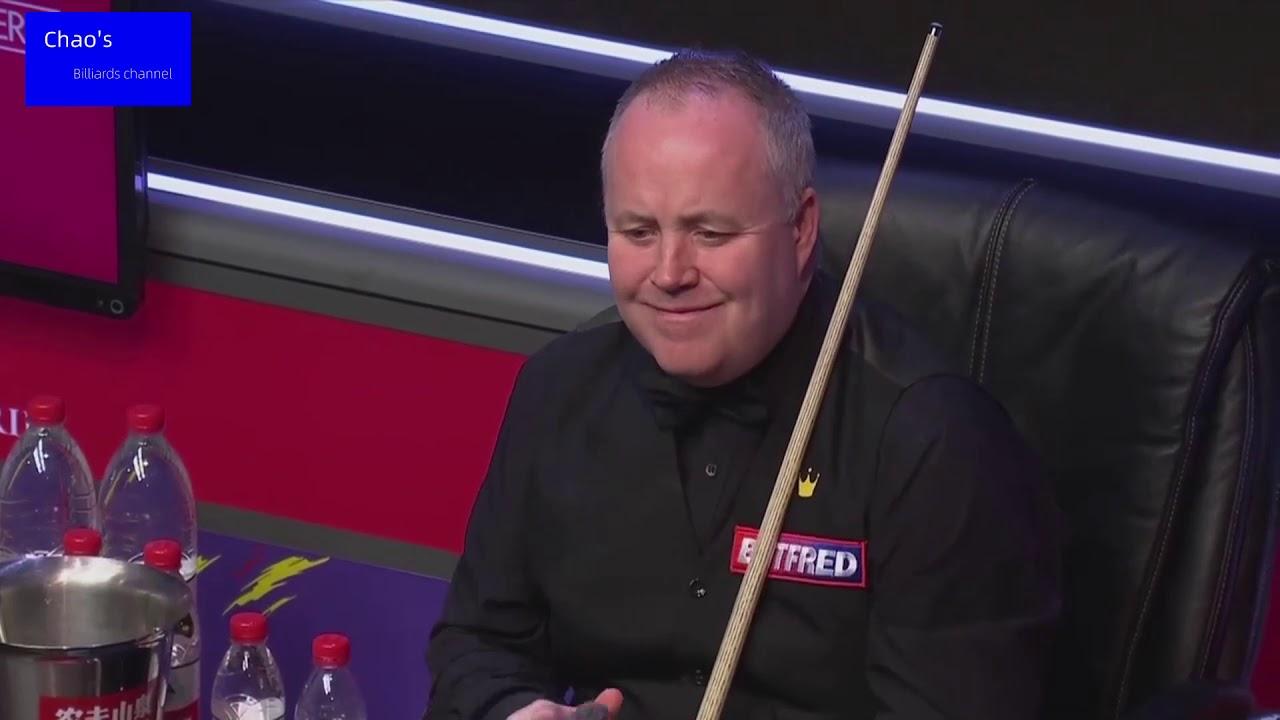 2021斯诺克大师赛 希金斯(John Higgins)VS奥沙利文(Ronnie O'Sullivan)2021 snooker Masters