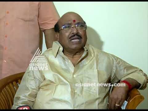 BJP Candidate P. S. Sreedharan Pillai visit Vellapally Natesan
