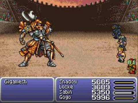 Final Fantasy VI Advance (Part 59 - New Esper Gilgamesh)