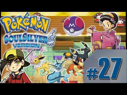 Pokémon Soul Silver EP.27 Cueva Oscura, Master Ball, y batalla con las chicas Kimono