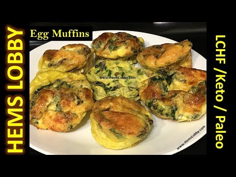 Egg Muffins recipe in Tamil with Eng subtitles| Keto egg muffins recipe|Keto breakfast |Keto recipes