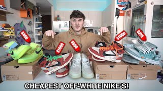 I Bought The Cheapest Off-White Nike's On The Internet...