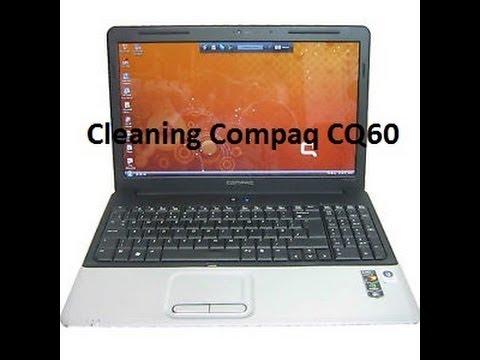 Cleaning Compaq CQ60