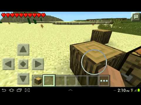 How To Build A Crafting Table In Minecraft Pe Survival