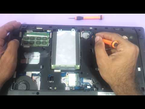 Lenovo G580 How to upgrade the ram harddrive dvdwriter cmos cell
