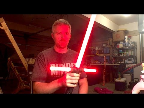 Kylo Ren FX Black series lightsaber rebuild and conversion