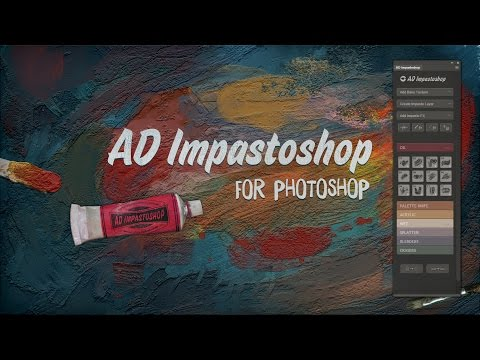 AD Impastoshop - A real time thick painting machine for Photoshop!