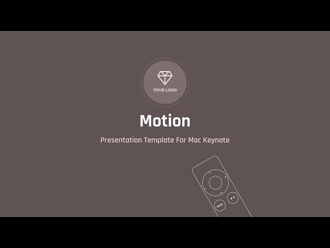 Motion — Creative Multipurpose Presentation Template for Mac Keynote