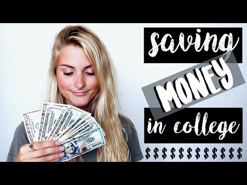 6 Ways to Save Money in College   Tasha Farsaci