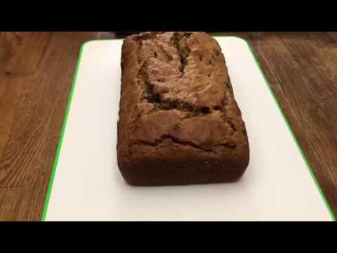 Peanut Butter Chocolate Banana Bread Video