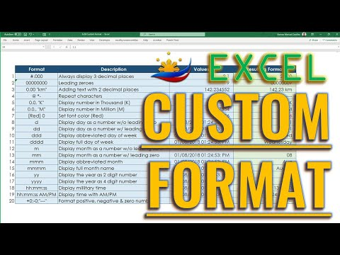 Excel Custom Format (Format Cells)