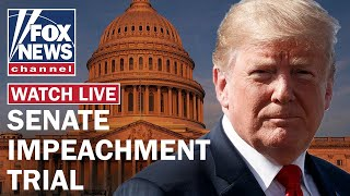 Trump defense concludes opening arguments in Senate impeachment trial Day 7
