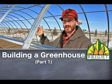 Building A Greenhouse (Part 1): Installing a Rolled Form Hoophouse