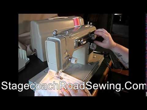 Kenmore 158.13033 Sewing Machine Demo Video