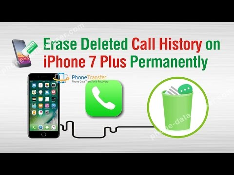 How to Erase Deleted Call History on iPhone 7 Plus Permanently