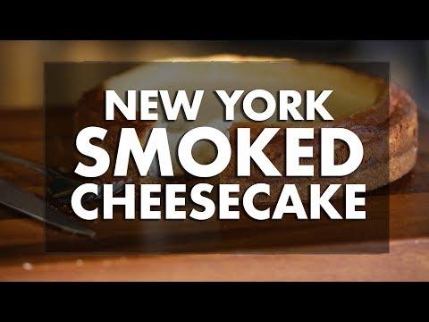 New York Smoked Cheesecake Recipe • REC TEC Grills