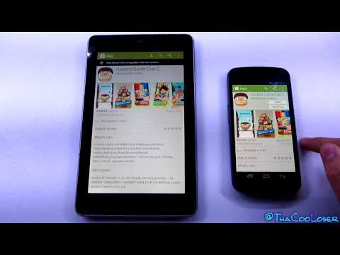 Get Games & Apps working on incompatible devices - Rooted users only