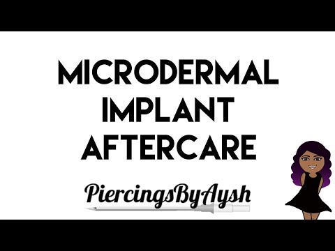 How To Clean Your Microdermal Implant | Microdermal Implant Aftercare