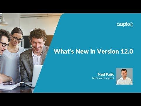 What's New in Caspio Bridge 12.0