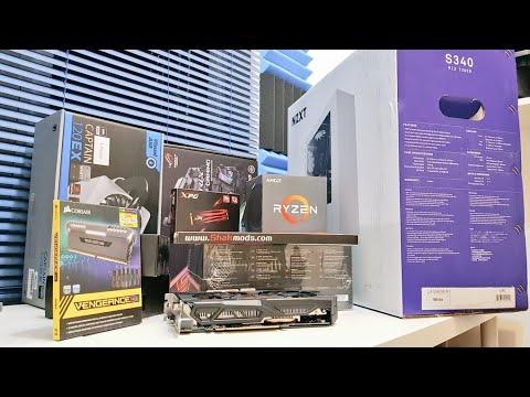 Ryzen 5 Editing & Gaming PC 2018 - The £1000 Amazon PC System