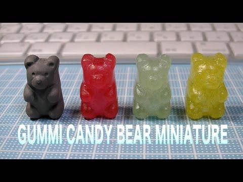 Gummi Candy Bear resin DIY  グミベアー製作記① スイーツデコ