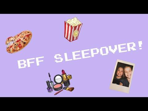 BFF SLEEPOVER!! Vlog #2