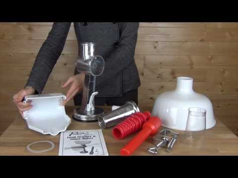 Roma Food Strainer and Sauce Maker Model 07-0801 Product Overview