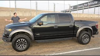 Here's Why a Used Ford F-150 Raptor Is a Great Financial Decision