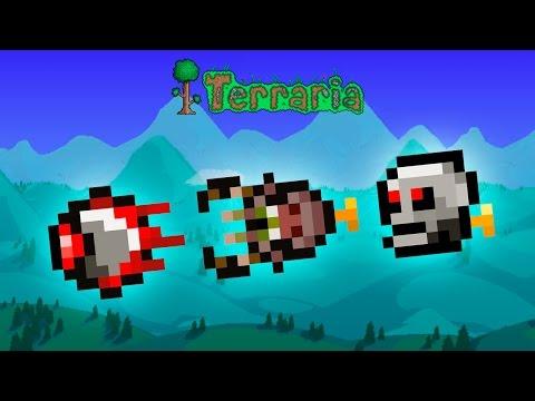 Terraria - Mechanical Eye, Mechanical Worm & Mechanical Skull (Rezept/Recipe)