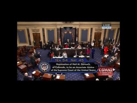 Senate Confirms Neil Gorsuch to Be Next Supreme Court Justice