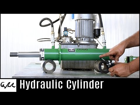 Making hydraulic cylinder