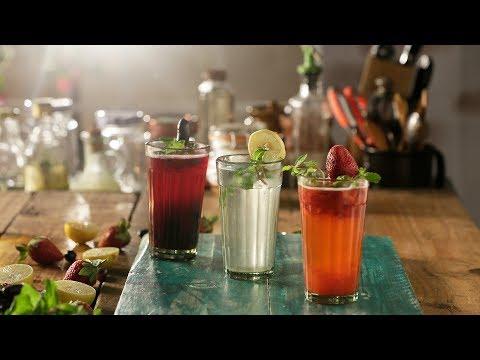 Shikanji 3 ways | How to make Shikanji | Refreshing Summer Drink