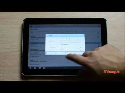 Galaxy Tab 10.1 - Accessing shared files on PC (through WiFi)