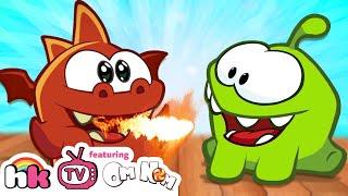 Om Nom Stories: Dragon Warrior | Om Nom Season 4: Magic | Funny Cartoons | HooplaKidz TV