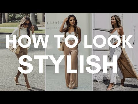 How To Look Stylish Everyday | 5 Steps to Getting Dressed