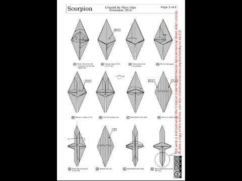 Origami scorpion (marc vigo)