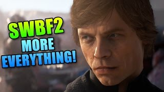 Battlefront 2 Full Trailer - Game Will Have More Everything!