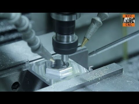 CNC Machining - How to Thread Mill an AR-15 Buffer Tube - Tormach PCNC 1100