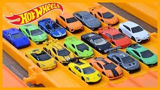 HOT WHEELS 16 x LAMBORGHINI SUPER ELIMINATION TOURNAMENT